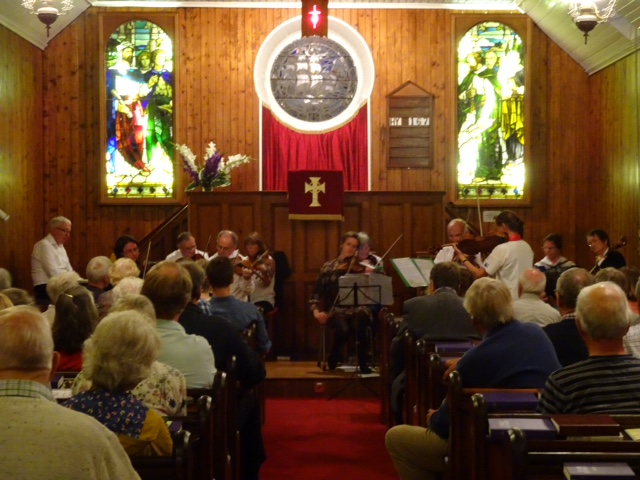 the Concert held on 8th August to raise funds for the church